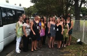 Wedding transport bus